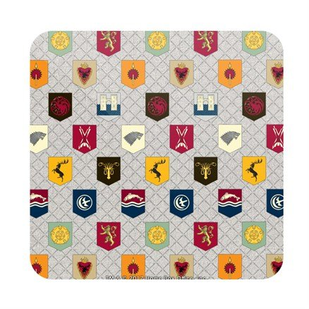House Banner Pattern - Game Of Thrones Official Coaster