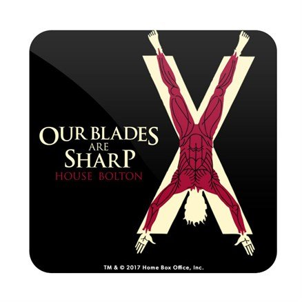 Our Blades Are Sharp - Game Of Thrones Official Coaster