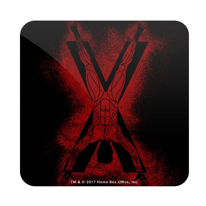 House Bolton Sigil Splatter - Game Of Thrones Official Coaster