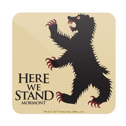 Here We Stand - Game Of Thrones Official Coaster