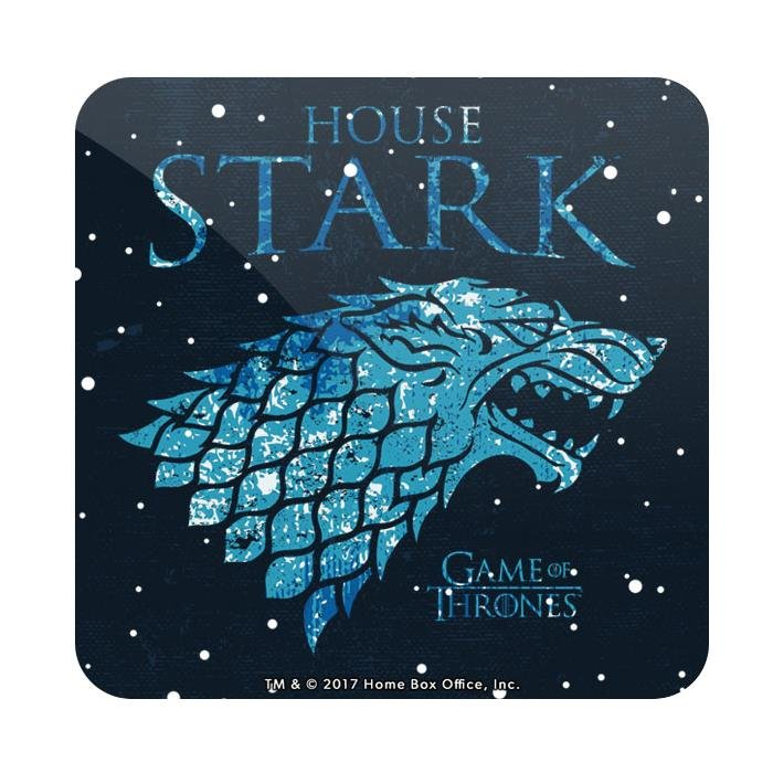 House Stark Ice - Game Of Thrones Official Coaster