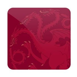 House Targaryen Tonal Sigil - Game Of Thrones Official Coaster