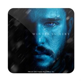Jon Snow: Winter Is Here - Game Of Thrones Official Coaster