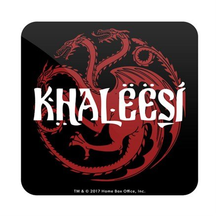 Khaleesi - Game Of Thrones Official Coaster