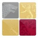 Tonal Sigil Set - Game Of Thrones Official Coasters