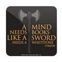 Tyrion: A Mind Needs Books - Game Of Thrones Official Coaster