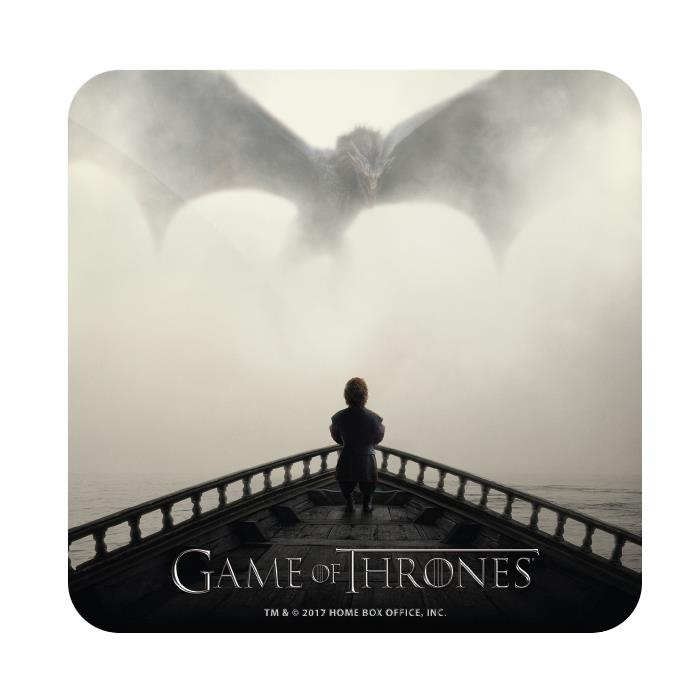 I Dream Of Dragons - Game Of Thrones Official Coaster