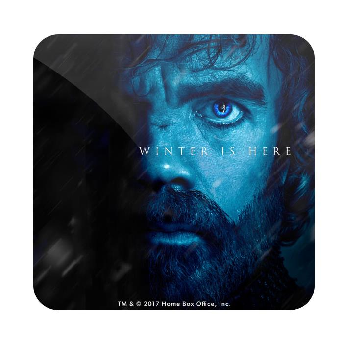 Tyrion Lannister: Winter Is Here - Game Of Thrones Official Coaster