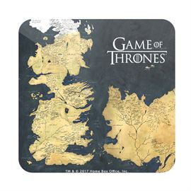Westeros - Game Of Thrones Official Coaster