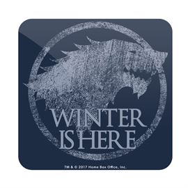Winter is Here - Game Of Thrones Official Coaster