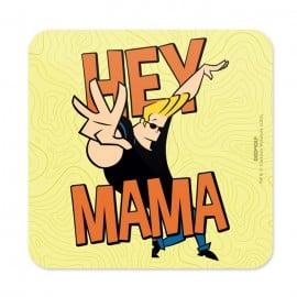 Hey Mama - Johnny Bravo Official Coaster