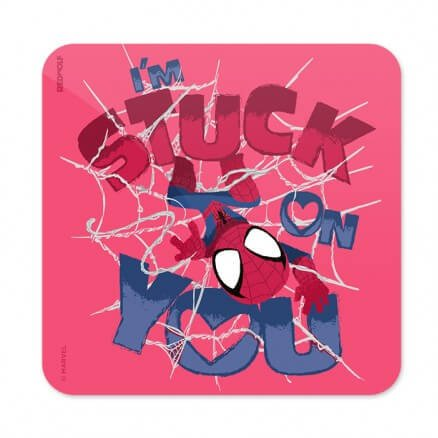 I'm Stuck On You - Marvel Official Coaster