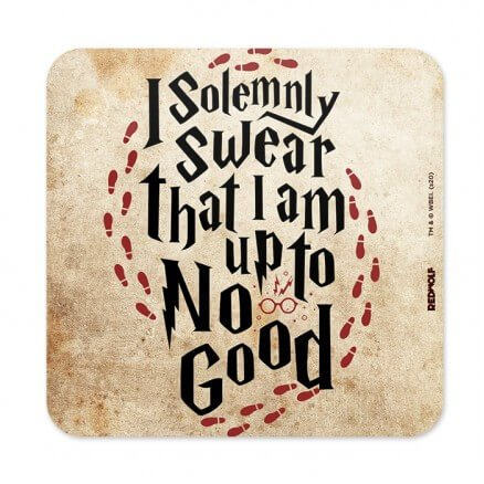 I Solemnly Swear - Harry Potter Official Coaster