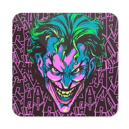 Demented Clown - Joker Official Coaster