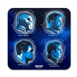 Avengers: Mugshot - Marvel Official Coaster