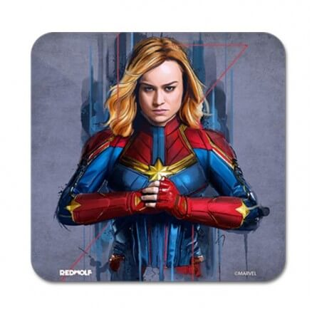 Captain Marvel - Marvel Official Coaster