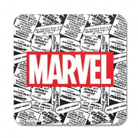 Marvel Comic Logo - Marvel Official Coaster