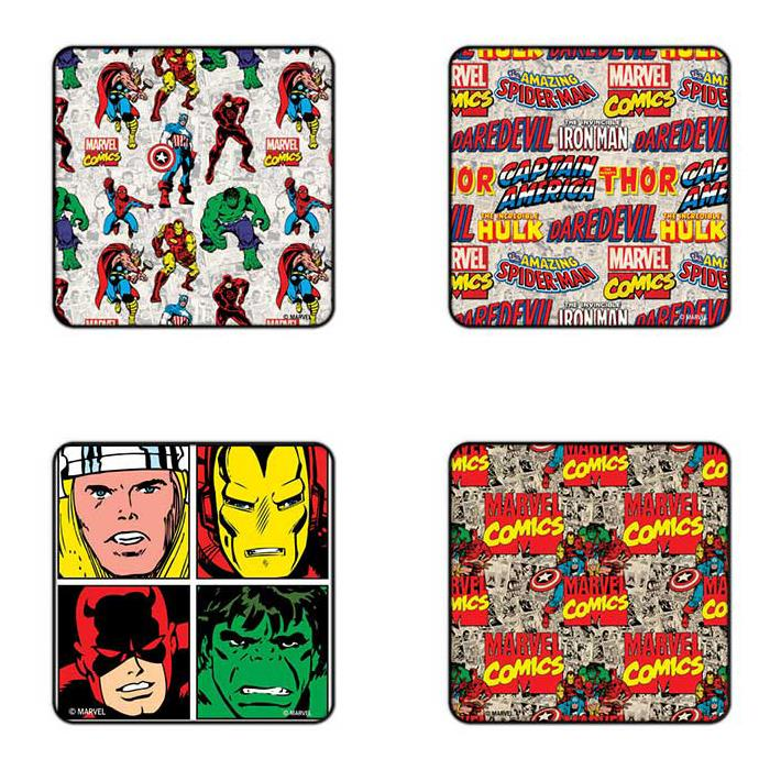 Avengers - Comics - Pack Of 4 Official Avengers Coasters