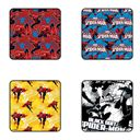 Spiderman Web Crawler - Pack Of 4 Official Spiderman Coasters
