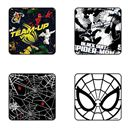 Spiderman Web - Pack Of 4 Official Spiderman Coasters