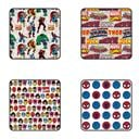 Marvel Comics - Avengers - Pack Of 4 Official Spiderman Coasters