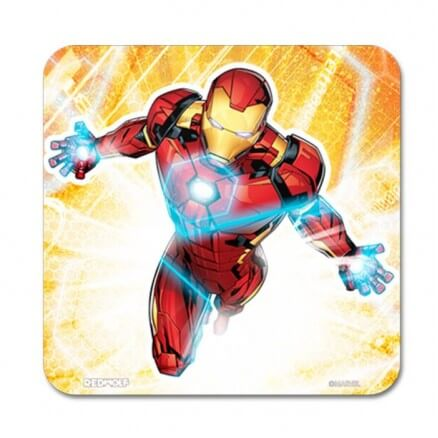 Iron Man: Fly High - Marvel Official Coaster