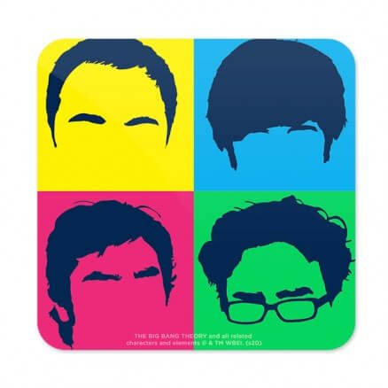 Nerd Blots - The Big Bang Theory Official Coaster
