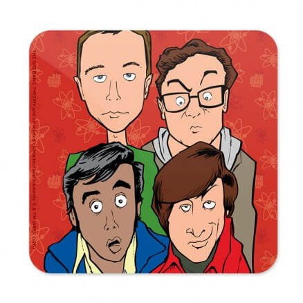Nerd Gang - The Big Bang Theory Official Coaster