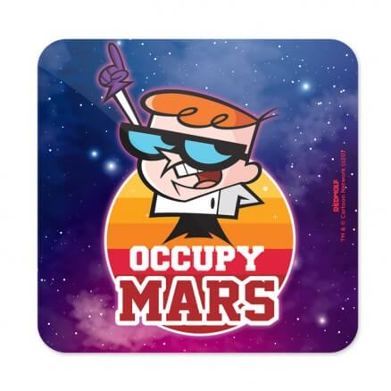 Occupy Mars - Dexter's Laboratory Official Coaster