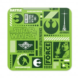 Resistance Infographic - Star Wars Official Coaster