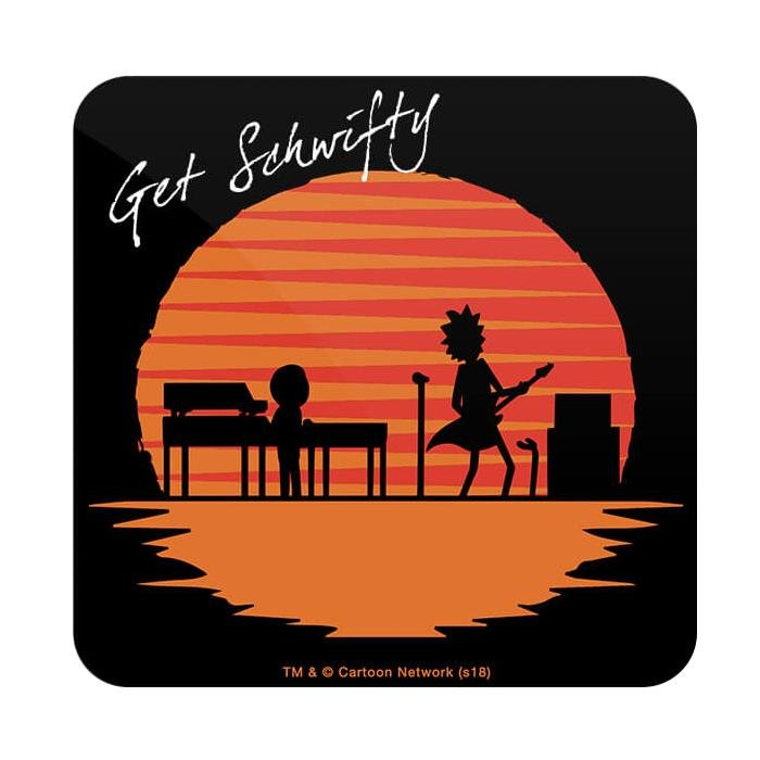 Get Schwifty - Rick And Morty Official Coaster