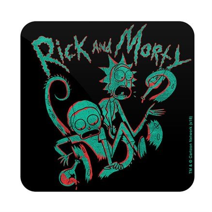 Rick's Lab - Rick And Morty Official Coaster