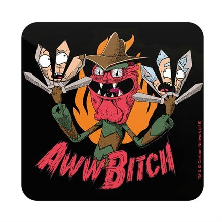 Scary Terry: Aww Bitch - Rick And Morty Official Coaster