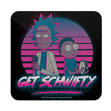 Schwifty - Rick And Morty Official Coaster