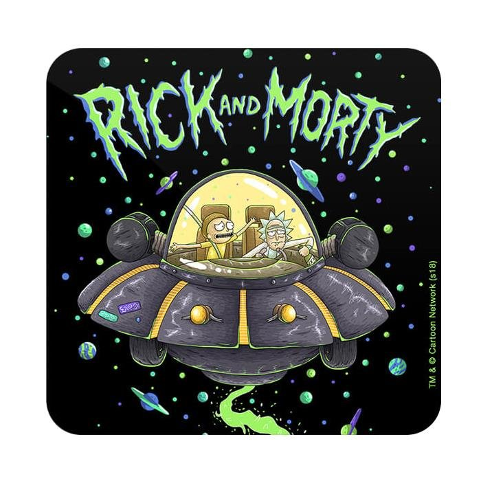 Space Cruiser - Rick And Morty Official Coaster