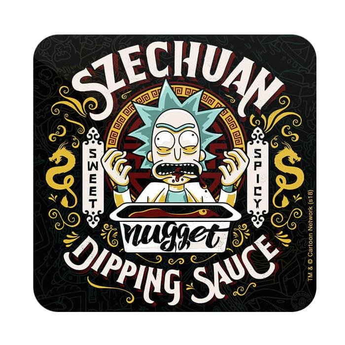 Grandpa's Dipping Sauce - Rick And Morty Official Coaster