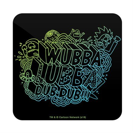 Wubba Lubba Dub Dub - Rick And Morty Official Coaster