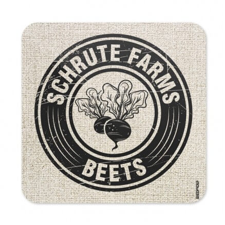 Schrute Farms Beets - Coaster