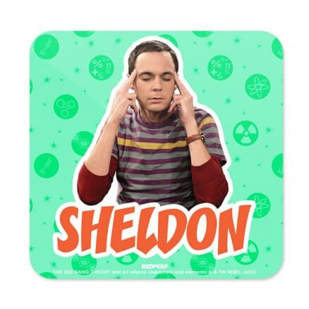 Sheldon - The Big Bang Theory Official Coaster
