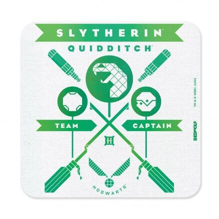 Slytherin Team Captain - Harry Potter Official Coaster