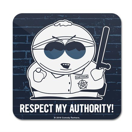 Cartman: Respect My Authority - South Park Official Coaster
