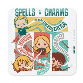 Spells & Charms Chibi - Harry Potter Official Coaster