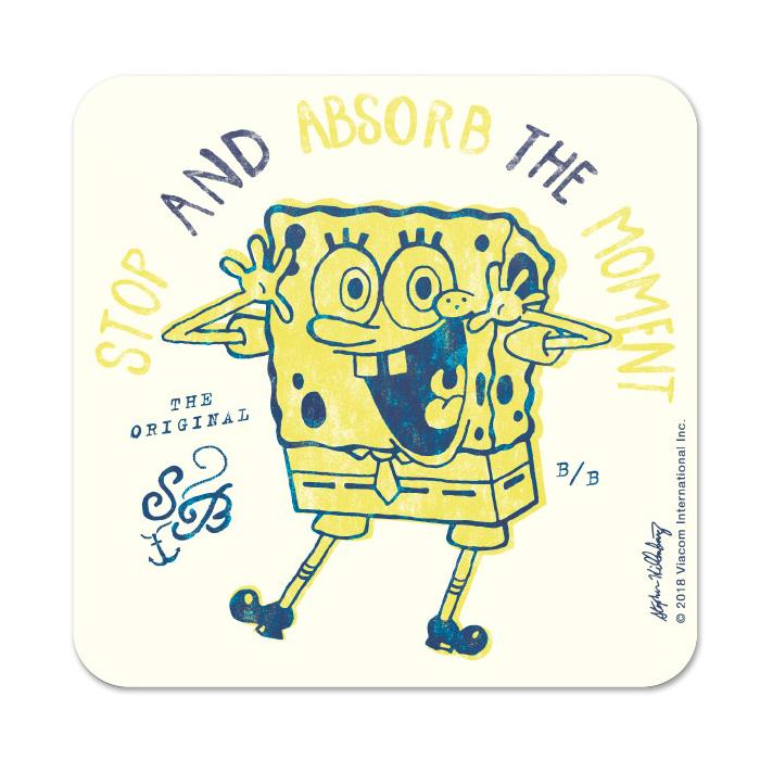 Absorb The Moment - SpongeBob SquarePants Official Coaster
