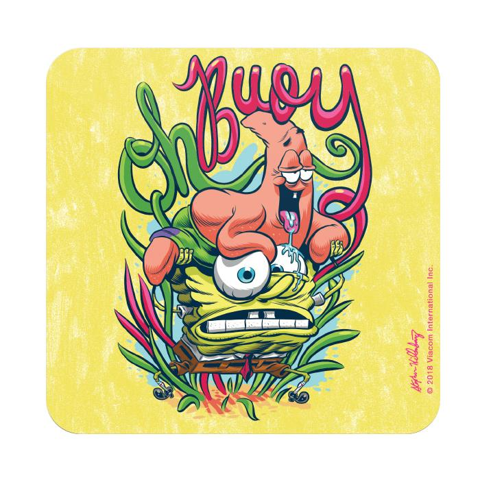 Oh Buoy - SpongeBob SquarePants Official Coaster