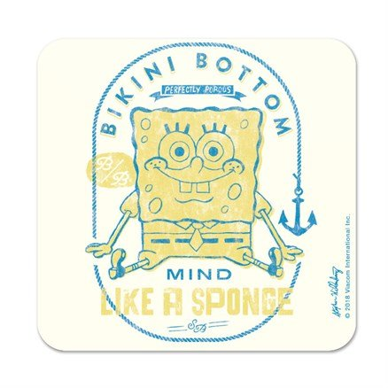 Perfectly Porous - SpongeBob SquarePants Official Coaster