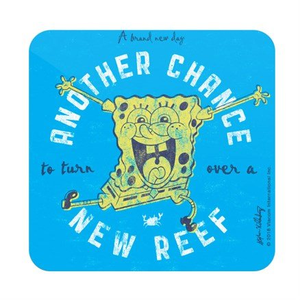 Turn Over A New Reef - SpongeBob SquarePants Official Coaster