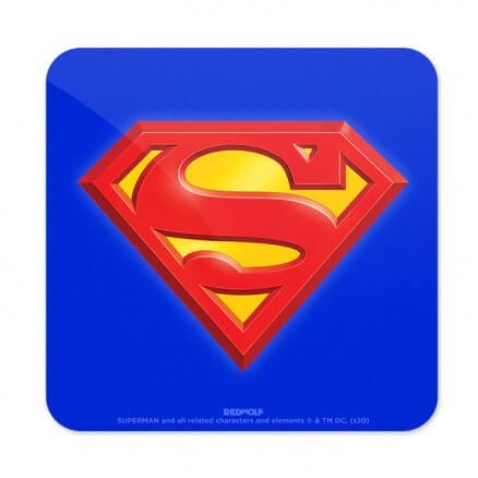 Superman: Logo - Superman Official Coaster