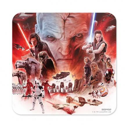 The Last Jedi - Star Wars Official Coaster