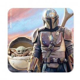 The Mandalorian And The Child - Star Wars Official Coaster