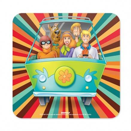 The Mystery Machine - Scooby Doo Official Coaster